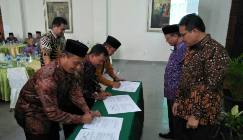 Foto BPJS Ketenagakerjaan Sumbagut Gandeng Kemenag Lindungi Guru Agama