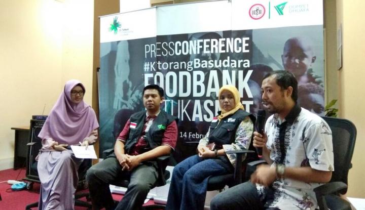 dompet dhuafa gagas 'food bank for asmat'
