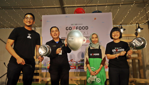 Foto Angkat Pamor UMKM, Go-Food Festival Digelar Setahun di GBK
