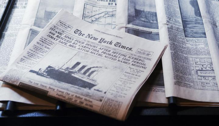 Foto Berita CEO New York Times: Umur Jurnalisme Cetak Tersisa Satu Dasawarsa