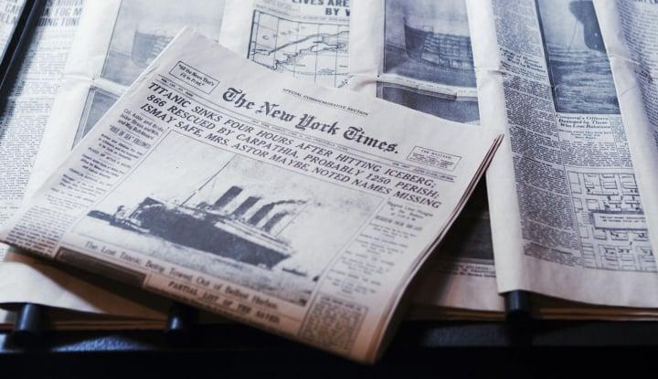 ceo new york times: umur jurnalisme cetak tersisa satu dasawarsa