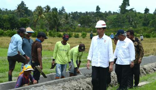 Foto Jokowi Akan Temui Petani Sorong, Jumat Besok