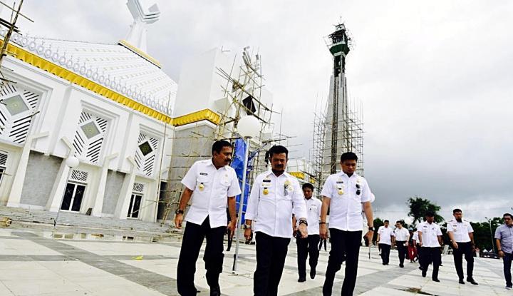 Foto Berita Masjid Rancangan Kang Emil di Makassar Dilaunching Maret