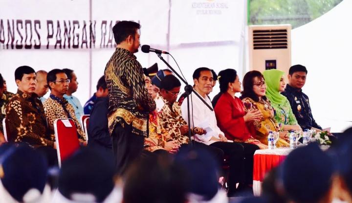 Foto Berita Gubernur Syahrul Laporkan Kondisi Ekonomi Sulsel ke Presiden