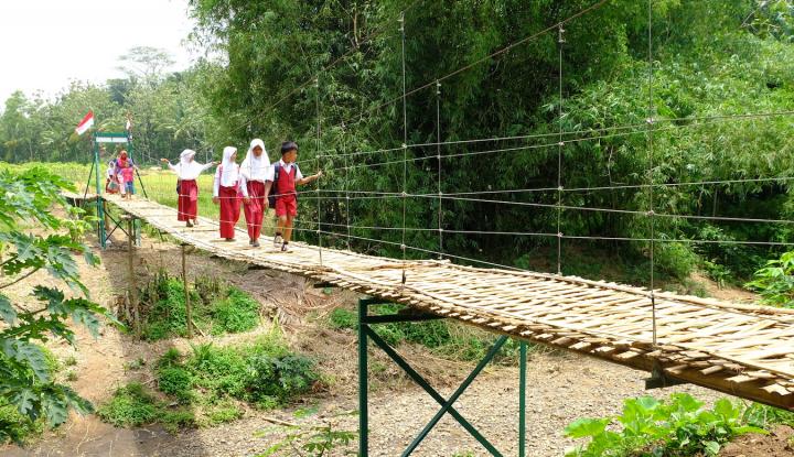 Foto Berita Telkomsel Bangun Akses Masyarakat di Pelosok Garut