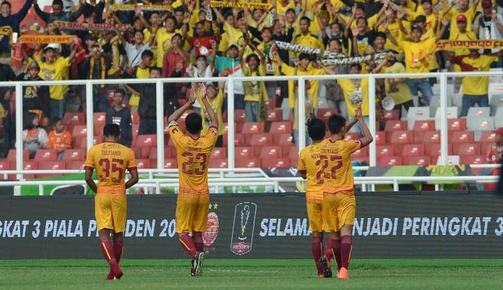 Foto Berita Sriwijaya Permalukan Borneo FC Lewat Duel Adu Penalti