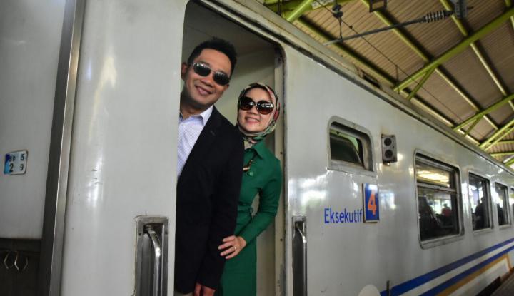 Foto Berita Hore! Kang Emil Aktifkan Kembali Empat Jalur Kereta di Jabar, Mirip Eropa