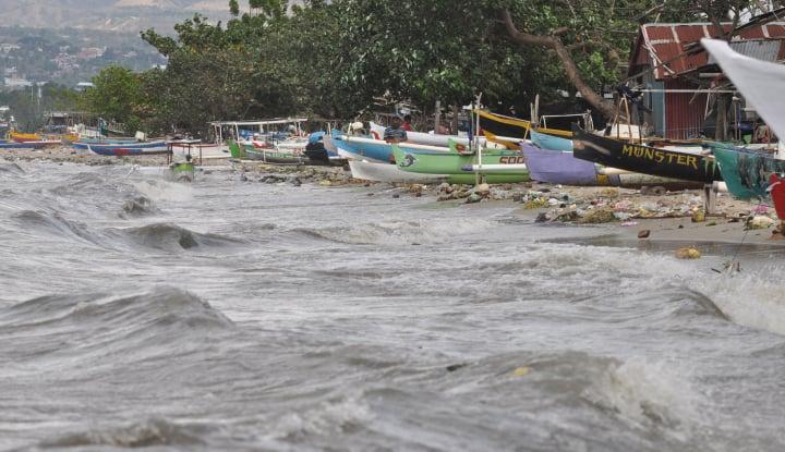 Foto Berita BMKG: Pasang Air Laut di Babel Normal