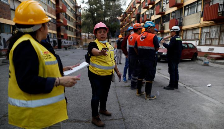 Foto Berita 13 Orang Tewas di Meksiko dalam Kecelakaan Helikopter
