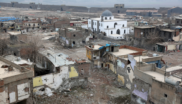Foto Berita Turki Sangkal Penggunaan Senjata Kimia di Afrin, Suriah