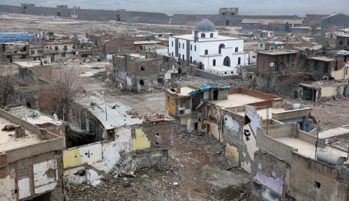 Foto Turki Sangkal Penggunaan Senjata Kimia di Afrin, Suriah