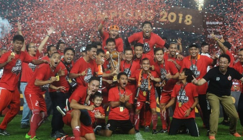 Foto Terdepak dari Liga Champions Asia, Persija Fokus ke Piala Indonesia