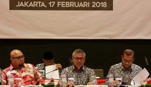 Foto Ketua KPU Bilang Mantan Napi Koruptor Sama 'Menjijikannya' dengan Pelaku Predator Seks Anak