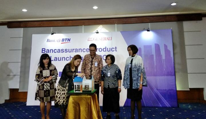 Foto Berita Gandeng Generali, BTN Proteksi Nasabah KPR dari Penyakit Kritis