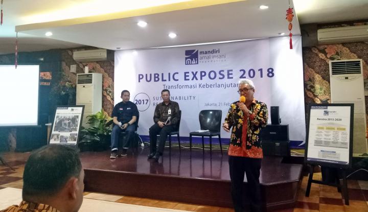 Foto Berita 2017, Mandiri Amal Insani Foundation Capai Penyaluran 93 Persen