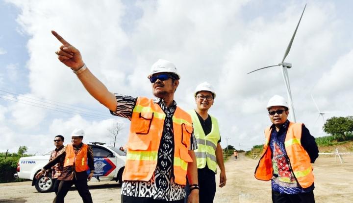 Foto Berita Pembangkit Listrik Tenaga Bayu Bakal Dibangun di Takalar