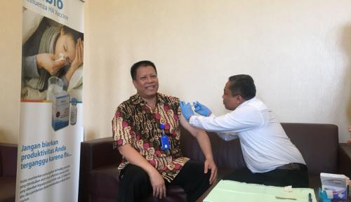 Foto Bio Farma Pasok 70 Persen Kebutuhan Vaksin Dunia