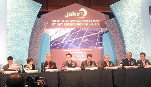 Foto Gelontorkan Rp228 M, Sky Energy Bakal Tambah Kapasitas