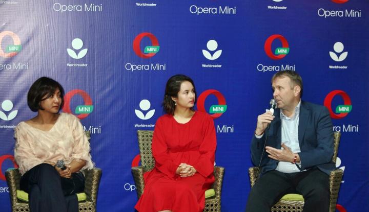 Foto Berita Opera dan Worldreader Hadirkan E-Book untuk Generasi Muda Indonesia