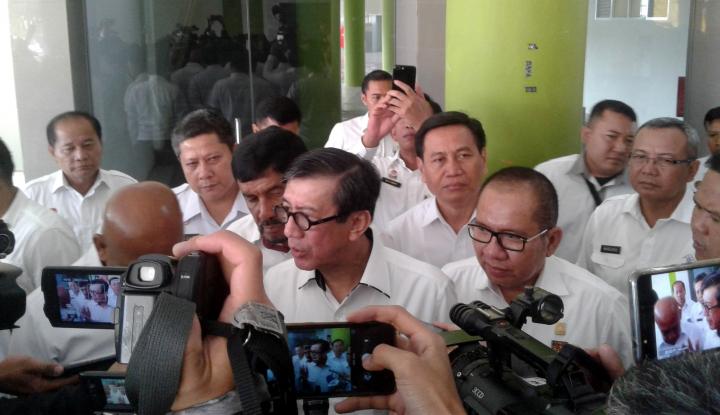 Foto Berita Sindir 2030 Indonesia Bubar, Menkumham: Anak Bangsa Harus Tebar Optimisme