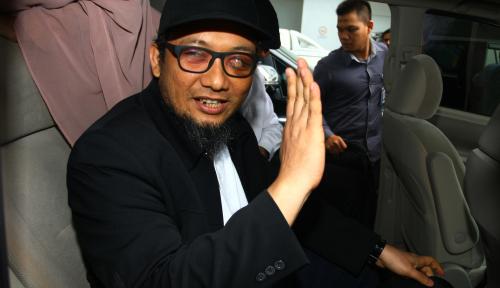 Foto Tiba di KPK, Novel Tularkan Semangat Lawan Korupsi
