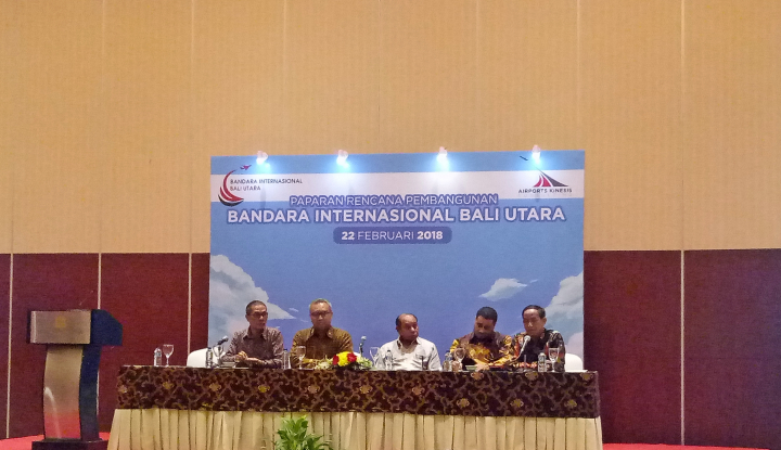 Foto Berita Majukan Pariwisata Bali, Presiden Sepakat Gubernur Bangun Bandara di Bali Utara