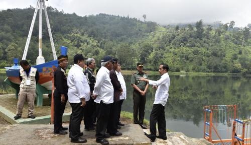 Foto Jokowi: Butuh 7 Tahun Tuntaskan Citarum