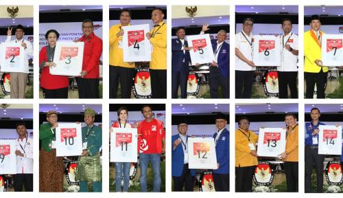 Foto Waduh! Hanya 8 Parpol Lolos Senayan