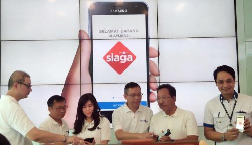 Foto Inovasi Aplikasi Digital, MNC Life Luncurkan Aplikasi Siaga