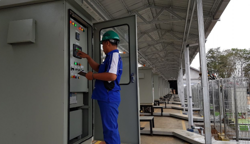Foto Hore, PLN Segera Operasikan 17 MW untuk Kutai Barat