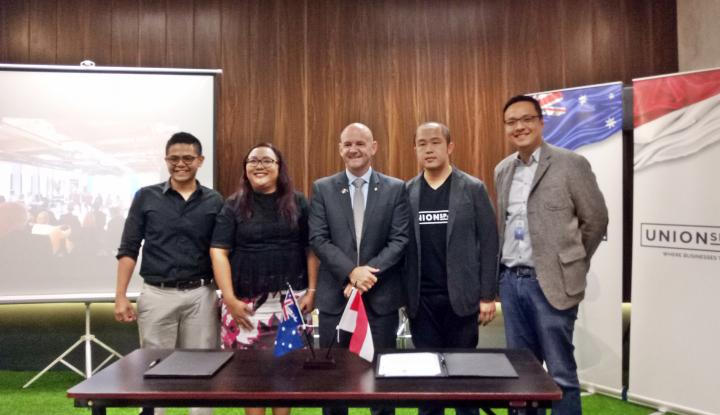 Foto Berita Indonesia-Australia Sinergi Kembangkan Industri Fintech