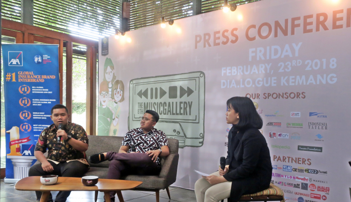 Foto Berita AXA Financial Indonesia Dukung The 8th Music Gallery