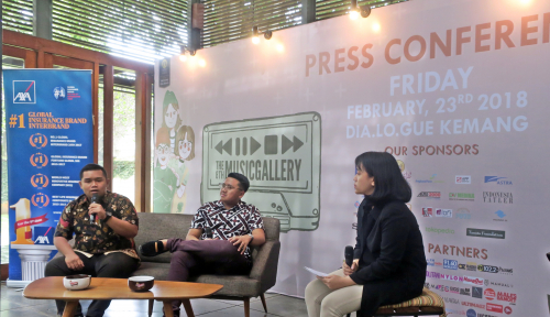 Foto AXA Financial Indonesia Dukung The 8th Music Gallery
