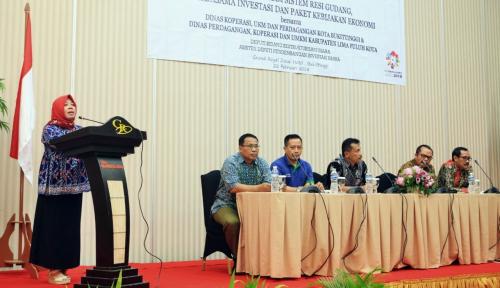 Foto Masuk Komoditas Resi Gudang, Gambir Jadi Alternatif Pembiayaan Koperasi dan UKM