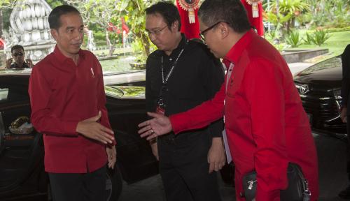 Foto PDIP Belum Bahas Siapa yang Dampingi Jokowi di Pilpres