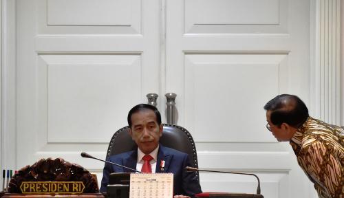 Foto Pantaskah Presiden Jokowi Digambarkan Mirip Pengemis?
