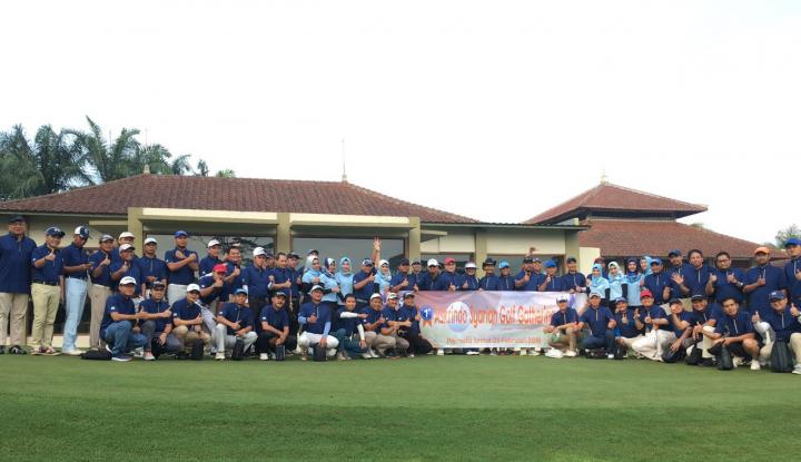 Foto Berita Jalin Silaturrahmi, Askrindo Syariah Gelar Golf Gathering
