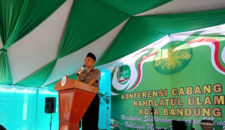 Foto Berita Polrestabes Bandung Jamin Keamanan Ulama