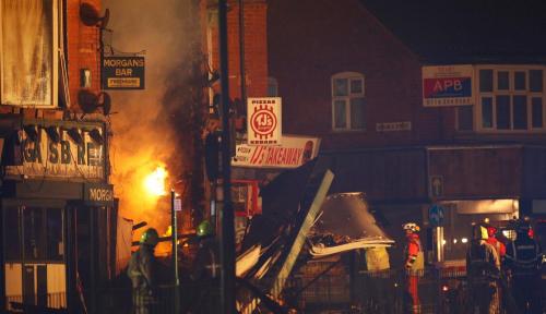 Foto Ledakan di Leicester yang Menewaskan 4 Orang Bukan Aksi Teroris