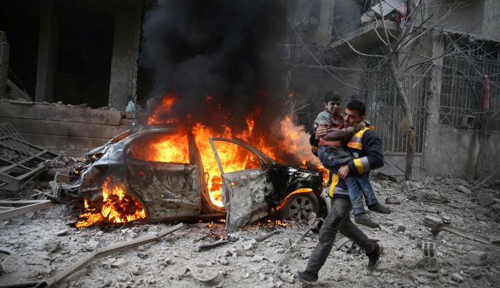 Foto Berita ACT Kirim Tim Selamatkan Pengungsi Ghouta