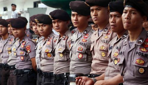 Foto Brimob Kumpul di Jakarta untuk Cegah People Power?