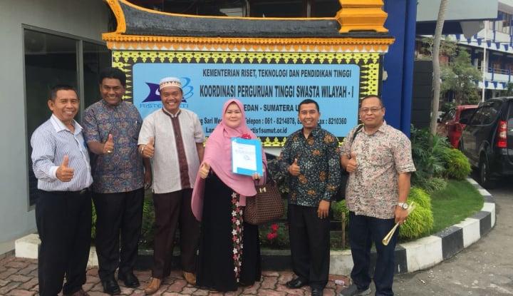 Foto Berita Larispa Fasilitasi Keluarnya SK STKIP Al Maksum Langkat