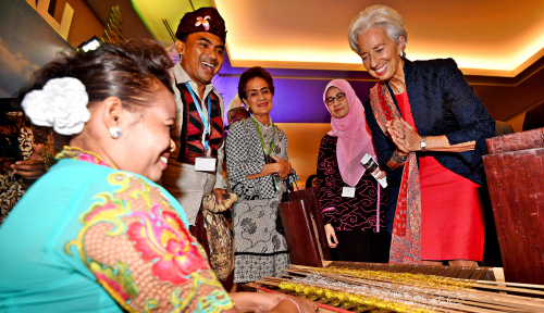 Foto Sosok Christine Lagarde dan Segudang Prestasinya
