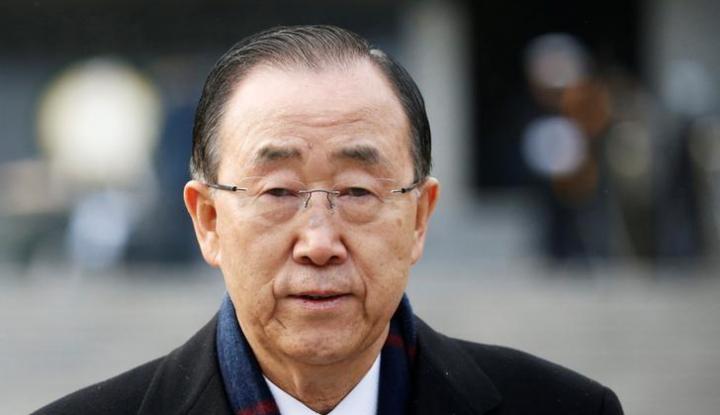 Foto Berita Eks Sekjen PBB Ban Ki-moon Terpilih Jadi Presiden GGGI