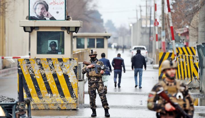 Foto Berita Taliban Mau Ikut Negosiasi Klausul Perdamaian, Pemerintah Afghanistan Marah Besar