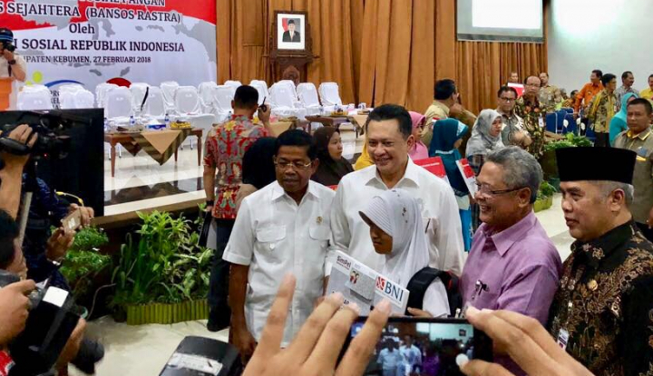 Foto Berita Bamsoet Puji Terobosan Jokowi soal Rastra dan PKH