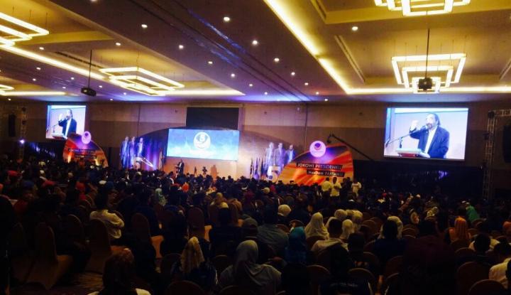 Foto Berita Surya Paloh Pimpin Konsolidasi Pemenangan Pilkada di Sulsel