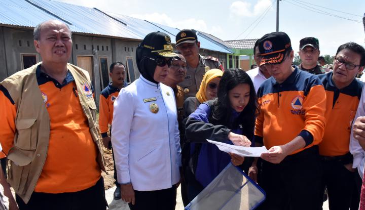 Foto Berita 1.249 Hunian Pengungsi Sinabung Selesai Dibangun
