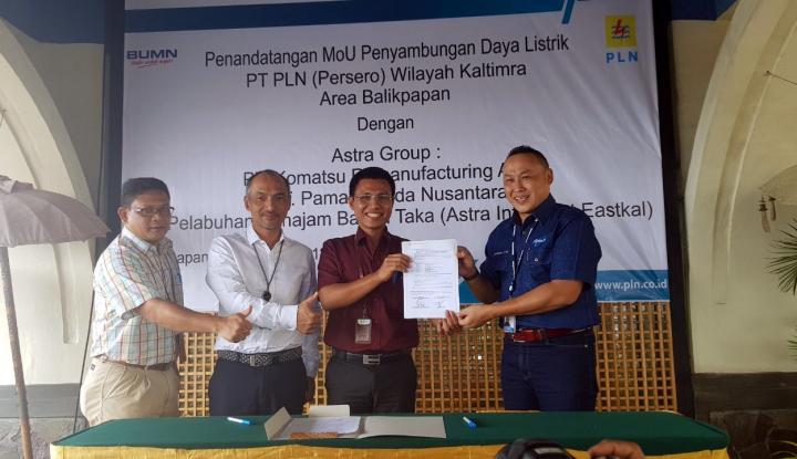 Foto Berita PLN Balikpapan Suplai 2.500 kVA untuk Astra Group