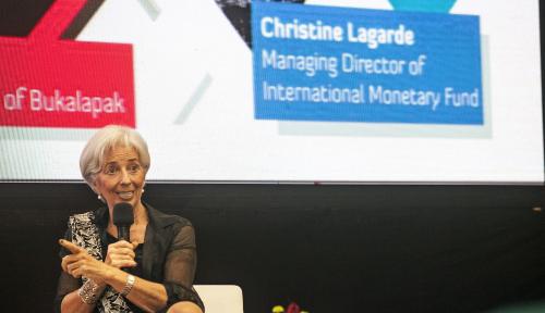 Foto Soal Perdagangan Global, Ini Komentar Bos IMF